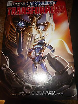 TRANSFORMERS - Schick Hydrobot and the Transformers - IDW #1 - Last Knight