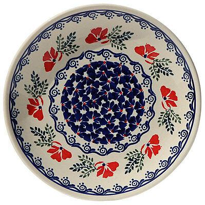 Polish Pottery Plate 7.5 Inch from Zaklady Boleslawiec Polish GU814/1115