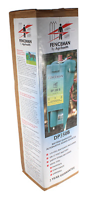 Fenceman DP350B Electric Fence Battery Energiser