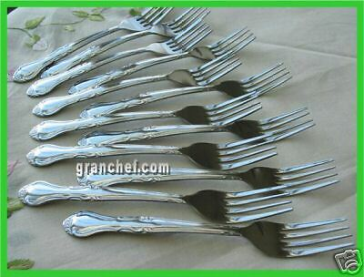 48 Pieces ~ Dinner Forks ~ Elegance Pattern ~ NIB's ~ Food Service / Caterers