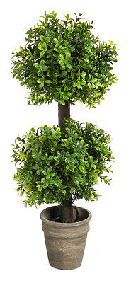 New Creative 24-Inch Battery Operated Two-Tier Artificial Topiary