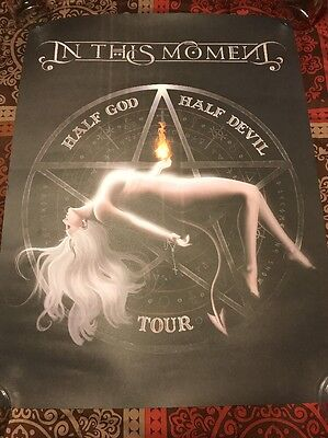 IN THIS MOMENT ~ 2017 Half GOD Half DEVIL Tour ~ SEXY Maria Brink ~ PRINT Poster