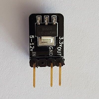 3.3v Regulator (UK made & shipped) ~ Vertical - Ver 1.2
