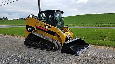 2012 Caterpillar 277C2 Compact Tracked Multi Terrain Skid Loader 2 Speed NEW UC