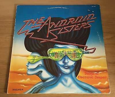 Android Sisters - Songs Of Electronic Despair LP Rare Import Vanguard Records
