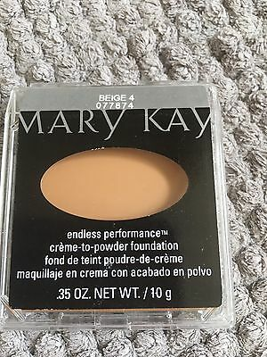 Mary Kay Endless Performance Creme To Powder Foundation ivory 2/3/4Beige 2/3/4/5
