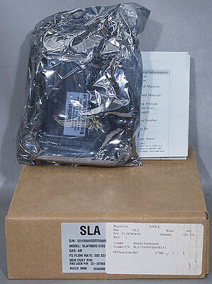 NEW Brooks SLA7950S1EGG1B2A1 Ar Mass Flow Controller, Novellus PN: 22-287808-00