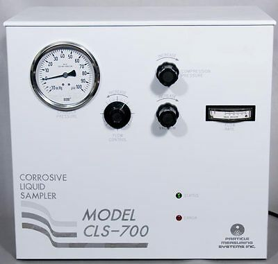 Particle Measuring Systems PMS CLS-700 T Chemical Liquid Particle Counter