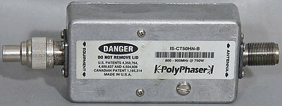 PolyPhaser IS-CT50HN-B Cellular/Paging Combiner Coaxial EMP/Surge Protector