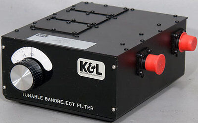 K&L/MPG 3TNF-25/50-N/N Tunable Notch Bandreject Microwave Filter 25-50 MHz
