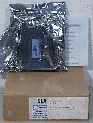 NEW Brooks SLA7950S1EGG1B2E1 Ar Mass Flow Controller, Novellus PN: 22-189383-00