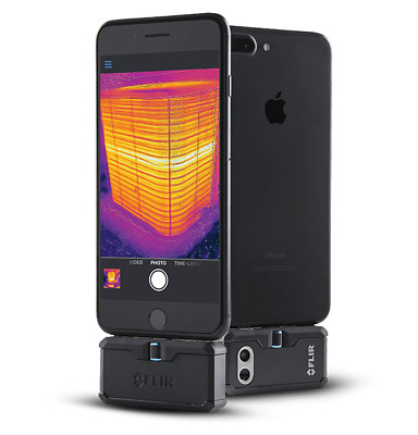 FLIR ONE Pro (Gen 3) Thermal Imaging Attachment for Apple iOS & FREE Volt Stick