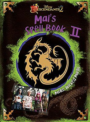 Descendants 2: Mal's Spell Book 2: More Wicked Magic (Hardcover)