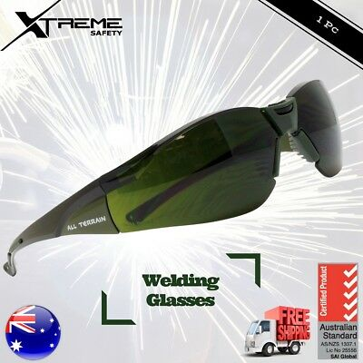 All Terrain Safety Welding Glasses Protective Goggles Oxy Shade 3 or 5 Glasses