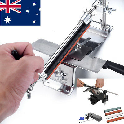 Professional Kitchen Sharpening System Fix-angle Knife Sharpener With Stones