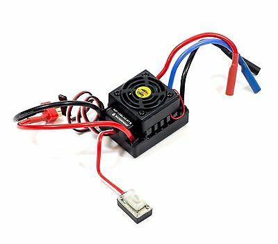 Hsp 1/10 Hobbywing Waterproof Brushless Wp-10Bl60-Rtr Esc 60A 2S 3S Lipo 37017