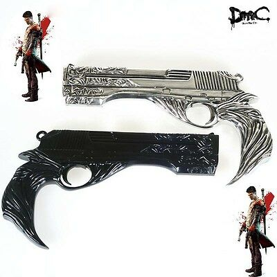 DMC Devil May Cry 5 Ebony V Dante Resin COLLECTION Gun Cosplay Props Weapons Toy