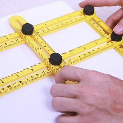 Max Form Easy Angle Ruler - Amenitee Multi-Angle Measuring Ruler Great Template