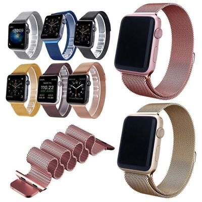 Magnetic Milanese Stainless Steel Strap Band for Apple iWatch Series 2/1 38/42mm
