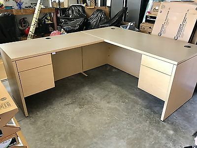 HON Executive L Shape Office Desk
