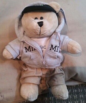 "Rare Starbucks Miami Local Series Bearista Bear 10""  2008 Mint Nwt"