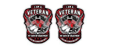 Proud U.S. USA Army Veteran Sticker Decal Honor Support Remember Navy Airforce