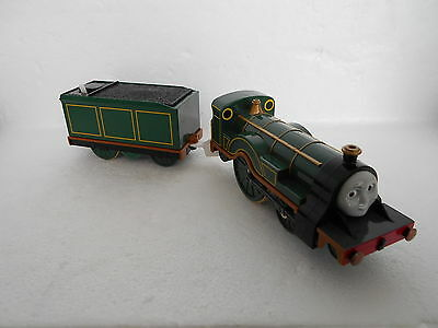 "Thomas The Tank Engine Tomy/trackmaster ""emily & Tender"" Gc"