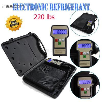 9V DC Digital Refrigeration Service Charging Weight Scale for HVAC High Accuracy