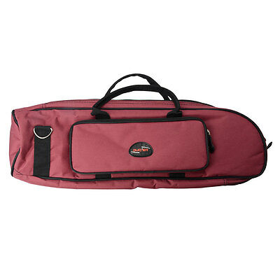 New Durable Lightweight Cloth  Professional Trumpet Case Big Protable Bag Red