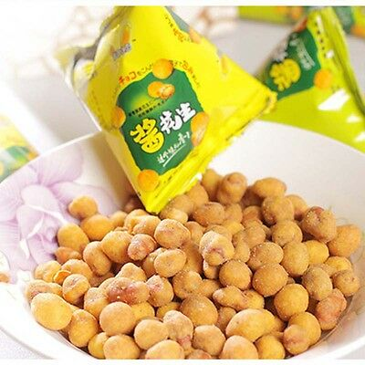 34g Chinese Snacks Peanut Beans spiced Beef Barbecue Flavor Nut Delicious