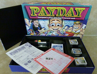Waddingtons Payday Board Game Complete 2000 edition  Family Fun