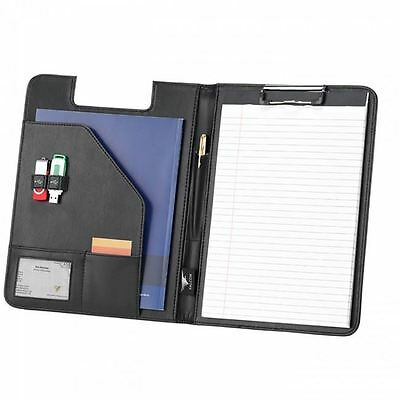 Business Executive A4 Conference Folder with Clipboard - Synthetic Leather