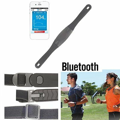 Bluetooth Heart Rate Monitor Strap For Riding Walking Race Rope LN