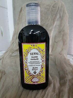 Champu color henna negro 250ml