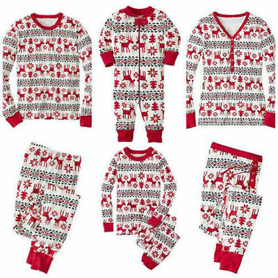 Family Mums Matching Christmas Pajamas PJs Sets Xmas Sleepwear Nightwear Gifts