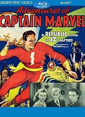 Adventures Of Captain Marvel (1941) (2017, Blu-ray NUOVO) (REGIONE A)