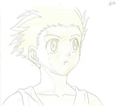 Anime Genga not Cel Hunter X Hunter #1