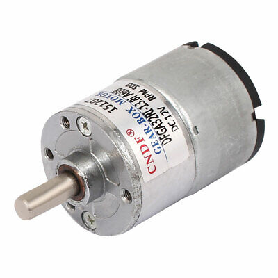 DFGA32 DC 12V 400-500RPM Output Electric Geared Box Speed Reduce Motor