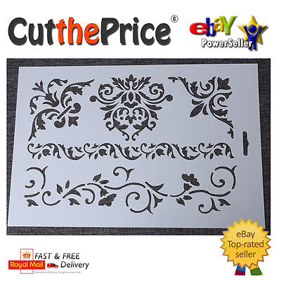 DIY Craft Flower Layering Plastic Stencils Scrapbooking Stamping Painting Stamps