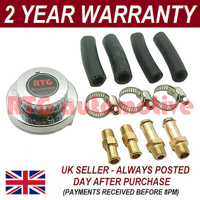 Variable 1-5 Psi Fuel Pump Pressure Regulator 6Mm 8Mm 10Mm Tails In/out Included
