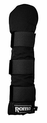 Roma Padded Tail Wrap - Black