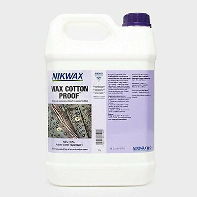 NIKWAX Wax Cotton Proofer 5 Litre, Assorted, One Size