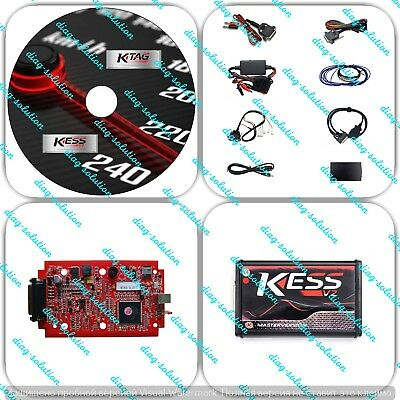 Kess V2 5.017 with Red PCB Online Version Support 140 Protocol No Token Limited