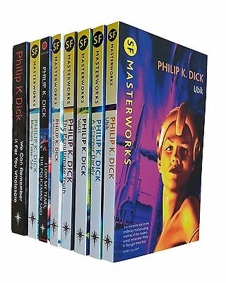 Philip K Dick 8 Books Science Fiction Classic SF Masterworks Ubik Valis + 6 New