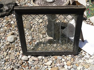 Antique/Vintage Leaded Glass Window Out of a Church in Northern Pennsylvania