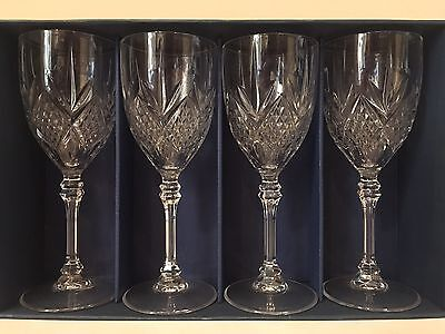 Cristal d'Arques 4) 24% Lead Crystal Wine Glass Fontenay 25 cl J.G Durand France