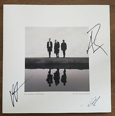 PVRIS Signed All We Know of Heaven, All We Need of Hell Vinyl Record Metal RARE
