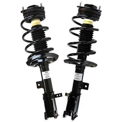 Pair (2) Front Quick Install Complete Strut Assembly With Lifetime Warranty