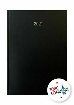 2019 A4 and A5 BUSINESS  page a day diary with planer hardback & casebound