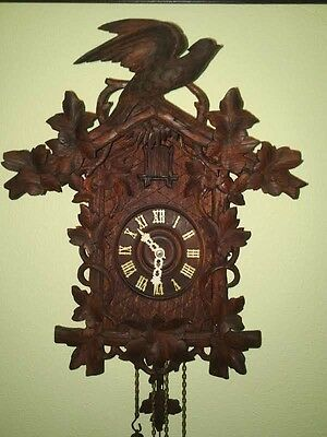 Antique GHS cuckoo clock late 1800s